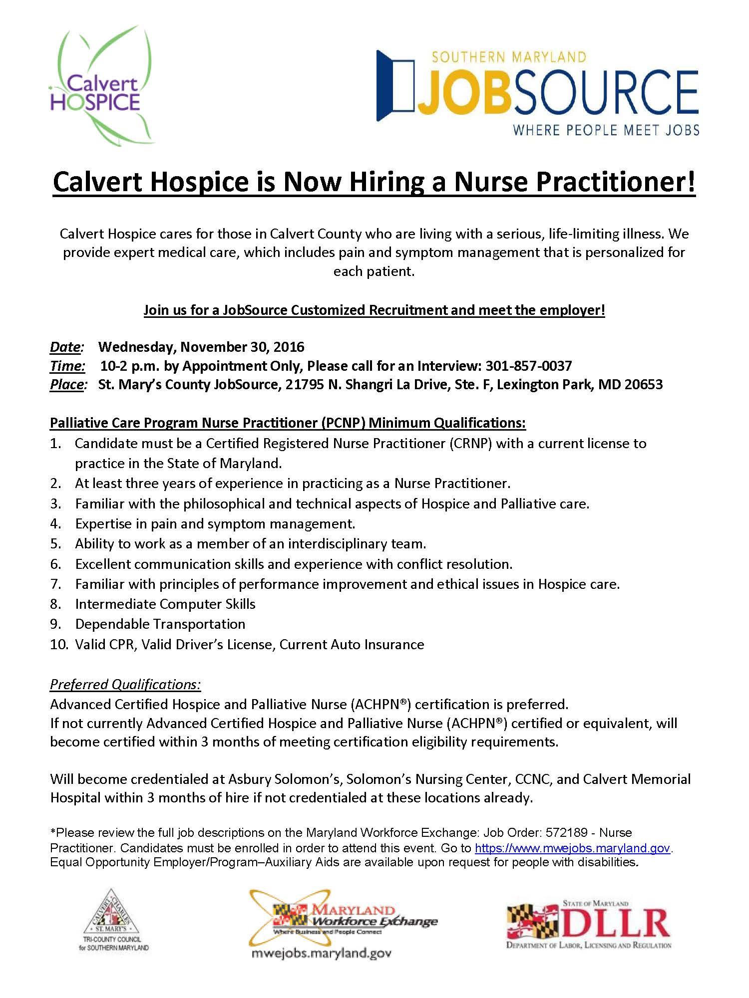 flyer-calvert-hospice